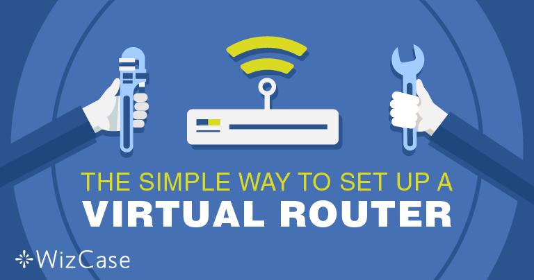 Virtuaalisen reitittimen asentaminen Windowsille VPN:n avulla