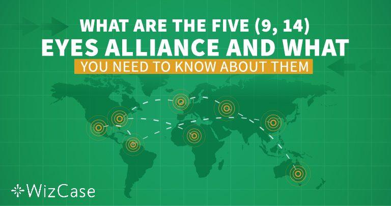 Ymmärrä, mitä Five-, Nine- ja 14 Eyes-allianssit tarkoittavat ennen VPN:valintaa!