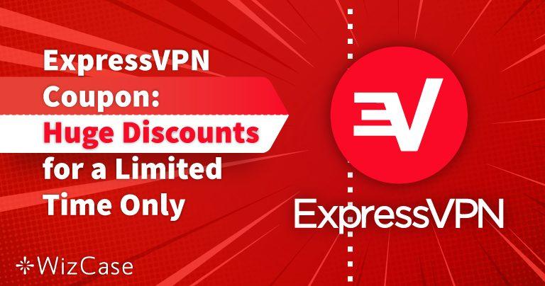 ExpressVPN-kuponki 2021: 49 % ALE + 3 ilmaista kuukautta