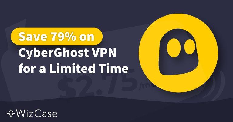 Toimiva CyberGhost VPN-kuponki 2020: Säästä nyt jopa 79%