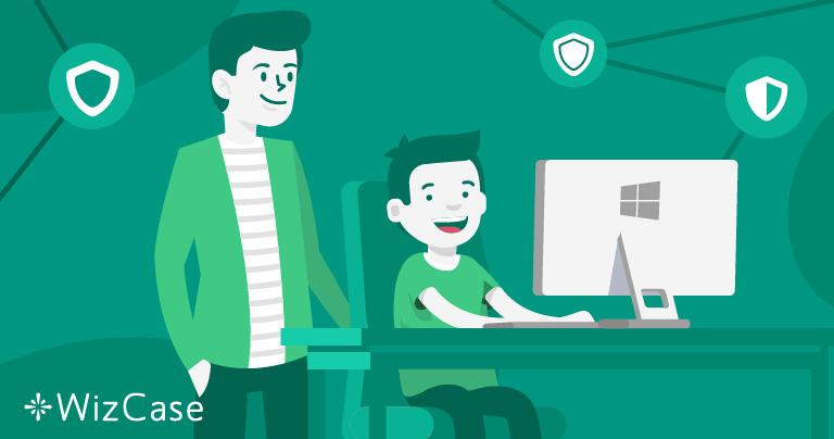 5 parasta lapsilukko-ohjelmistoa Windowsille vuonna 2021